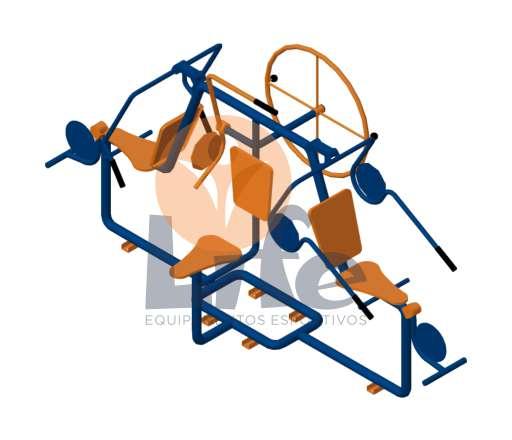 Multi Exercitador 6×1
